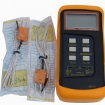 TM02-เครื่องวัดอุณหภูมิ เทอร์โมมิเตอร์แบบดิจิตอล Digital Thermometer Temperature Meter Tester K-Type 6802II