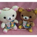 ตุ๊กตาน้องหมี Rilakkuma และ Korilakkuma แบบใหม่น่ารัก (ราคาต่อคู่ค่ะ)