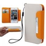 Case เคส Litchi iPhone 5 (Beige)