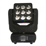 Moving LED 9x10w 4in1