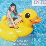 แพยางลอยน้ำ รูปเป็ดสีเหลืองยักษ์ใหญ่ Intex