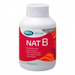 Nat B 100 แคปซูล บำรุงสมอง ช่วยลดความเครียด