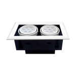 LED Downlight grill 2x7W