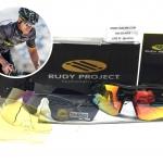แว่นตาปั่นจักรยาน Rudy Project Tralyx <ดำ> ชุด 4 เลนส์