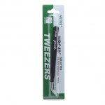 VETUS ESD-15 Stainless Steel Curved Tweezers (125mm)