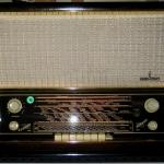 วิทยุหลอด siemens spitzensuper 54 ปี 1953