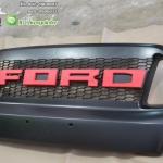 กระจังหน้า Ford Ranger T6 MC ตัวอักษรสี แดง วัสดุเกรด A