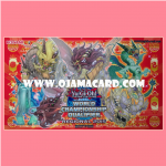 "Yu-Gi-Oh! TCG Sneak Peek Playmat / Duel Field - DUEA Regional season (2015) : ""Yang Zing / Dracomet"" monsters"
