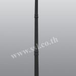 โคมไฟหัวเสาสนามนอกบ้าน SL-11-5018CF-BK-M-2A