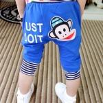 กางเกงสีน้ำเงิน ลายลิง ขนาด 100-140