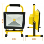 LED Flood light Battery Rechargeabel 50W