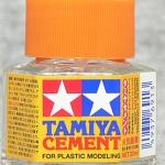 Tamiya cement ฝาส้ม