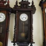 นาฬิกาม้าjunghans 2ลาน ตัวเลขตลก