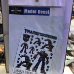 Model Decal 1031 (Optimus Prime)