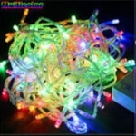 LED ไฟหยดน้ำ 10m. สี RGB