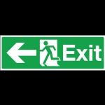 ป้ายไฟ Exit (ซ้าย)