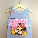 H&M---เสื้อกล้ามสีฟ้า ลายมินนี่ เมาส์ Minnie Mouse ใส่สบาย น่าเลิฟ เหมาะกับ summer นี้ค่ะ