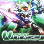 SD 00 Raiser / OO Gundam + O Raiser