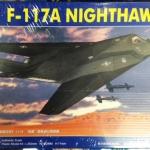 1/72 F-117A NIGHTHAWK