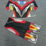 ชุด Ultraman Ginga S - ชุดแฟนซีอุลตร้าแมนกิงกะ เอส (งานลิขสิทธิ์) 3 ชิ้น เสื้อ กางเกง & หน้ากากให้คุณหนูๆ ได้ใส่ตามจิตนาการ ผ้ามัน Polyester ใส่สบายค่ะ หรือจะใส่เป็นชุดนอนก็ได้ค่ะ size S, M, L, XL