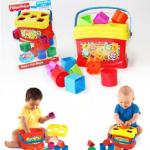 Fisher-Price Brilliant Basics Baby's First Blocks ชุดบล็อคตัวต่อสีสดใส