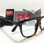 แว่นสายตา Rayban RB 4174 Squared 710/51 60-15 <กระ>
