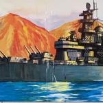เรือรบ 1/350 U.S. Battleship BB-63 Missouri