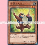 SHSP-JP015 : Tan-Tan the Raccoon Rascal (Common)