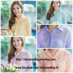 Elegant Lace Shirt มี 5 สีค่ะ