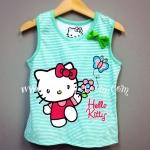 H&M---เสื้อกล้ามริ้วขาว-เขียว ลายคิตตี้ Kitty สดใส น่ารัก ใส่สบาย เหมาะกับ summer นี้ค่ะ