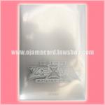 Yu-Gi-Oh! ZEXAL OCG Duelist Card Protector / Sleeve - Silver 100ct. 95%