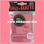 Ultra•Pro Pro-Matte Standard Deck Protector / Sleeve - Fuchsia 50ct.