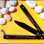 มีดซ้อมควงเดอะสกอร์เปี้ยน THE SCORPION BALISONG TRAINER KNIFE TKBS-SP701TR