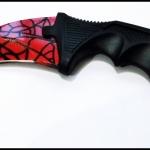 มีดคารัมบิต เรดสไปเดอร์ Red Spyder Karambit Knife TKKB-RS1