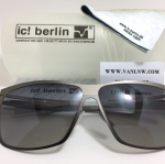 แว่นกันแดด ic berlin model siviob gun metal