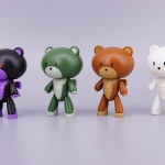 Bearmo Petit Bear set-B (4 ตัว)