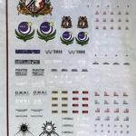 decals 1 100 Noir Stiker