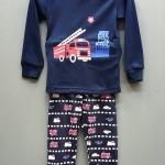 Baby Gap ชุดนอน/ชุดลำลองผ้ายืด แขนยาวสีน้ำเงิน ลายรถ ใส่ได้ทั้งหญิง ชาย เอวกางเกงเป็นยางยืด ไม่เสียง่าย ใส่สบายค่ะ size 90-130
