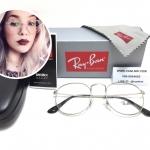 แว่นสายตา RayBan RX3447V Round Metal 2408 50-21 145 <เงิน>