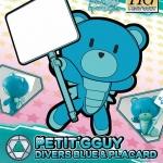 Petitgguy Divers Blue & Placard (HGPG)