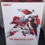 Metal build 1/100 MB 00 Seven Sword Gundam / G Inspection Red Colour