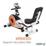 ชิวกว่านี้มีอีกไหม นั่งปั่นจักรยาน หน้าทีวีที่บ้านได้แบบชิวๆ กับราคาเย้ายวนใจ เครื่องปั่นจักรยานแบบนั่งปั่น Fitness Hospro Magnetic Recumbent Bike รุ่น MRB4000