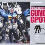 PG RX-78 GP01 GUNDAM