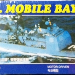 30 cm U.S.S. MOBILE BAY AEGIS MISSILE CRUISER