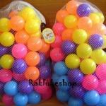 ลูกบอล 100 ลูก ขนาด 2.8 นิ้ว สีสันสดใส