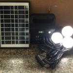 ชุดผลิตไฟฟ้าโซล่าเซลล์ 5W ( วิทยุ FM / AM + หลอดไฟ LED )