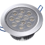 LED Downlight 12W - กลม