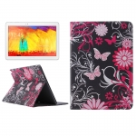 Butterfly Pattern Protective Case Samsung Galaxy Note 10.1 (2014 Editon) / P600