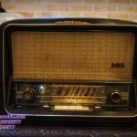 วิทยุหลอด aeg 5056 3d ปี 1956 รหัส7760ae