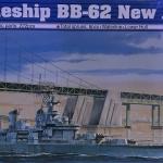 1/700 U.S. Battleship BB-62 New Jersey 1983 [Trumpeter]